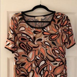Michael Kors Retro T-shirt Dress